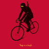Ninja on a Bicycle T-Shirt